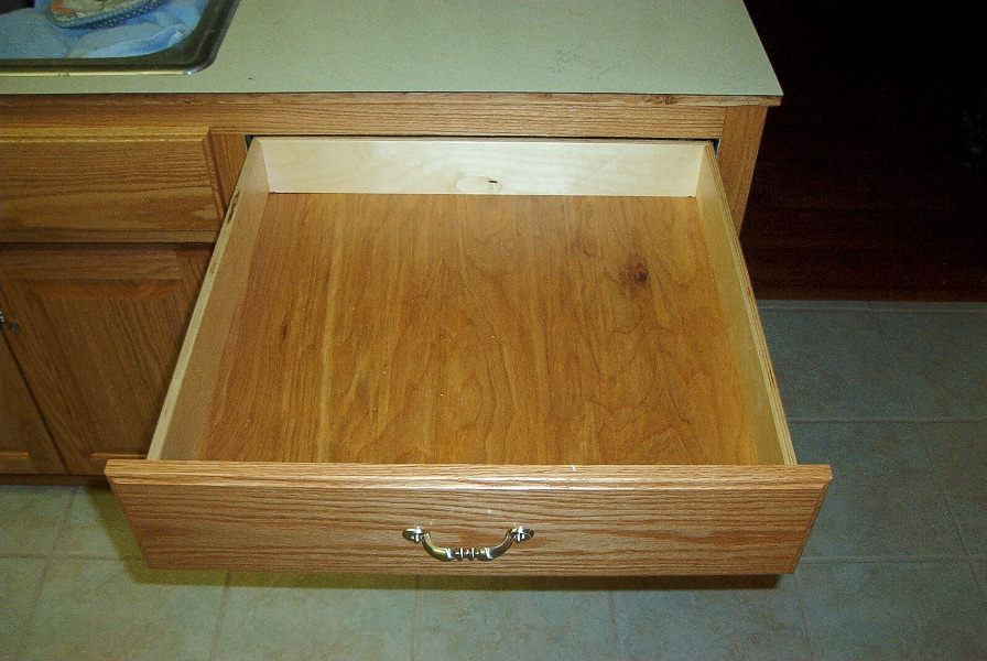 Cabinet Refacing New Drawer